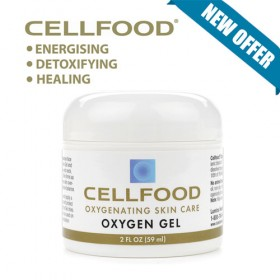 Cellfood Skin Care Oxygen Gel 2 oz 59 ml
