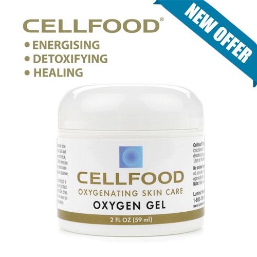 Cellfood Skin Care Oxygen Gel 2 oz 59 ml