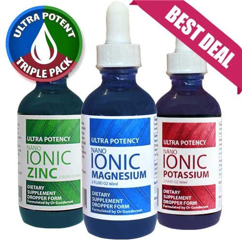 Nano Ionic Power Pack 3 x 60ml